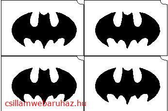 01. Batman mini sablon