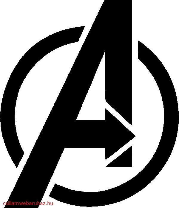 37. Avengers (Bosszúállók) logó  Új!