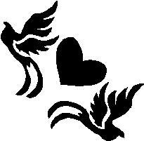 30. Galambok szívvel