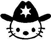 49. Hello Kitty seriff