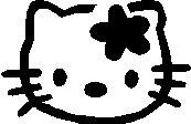 50. Hello Kitty virágos
