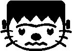 51. Hello Kitty Frankenstein