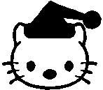 57. Hello Kitty télapó