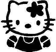 59. Hello Kitty portré